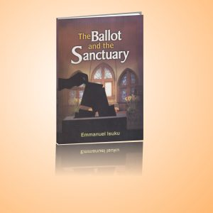 University Press Plc cover design of The Ballot and the Sanctuary
