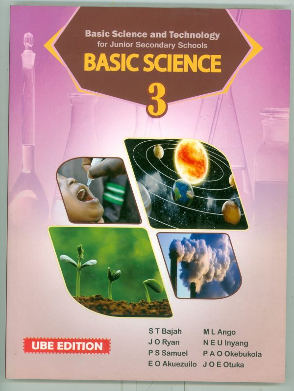Basic Science For Junior Secondary School Book 3